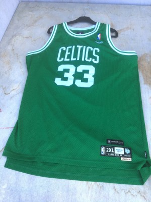 maillot nba LARRY BIRD
